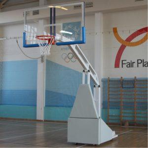 Баскетбольная стойка мобильная